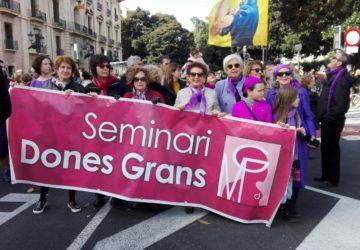 Manifestación 25 de Noviembre con motivo del Día contra la Violencia hacia las Mujeres