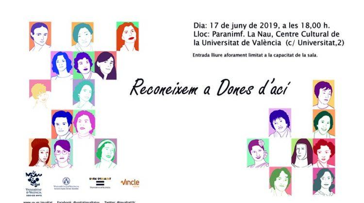 SUSPENDIDO EL ACTO: Reconeixem a Dones d'ací