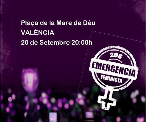 S.O.S. Manifestación nocturna. La nit serà violeta