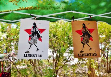 Internacionalistas con el Color de la Tierra: a veinte años de la marcha zapatista